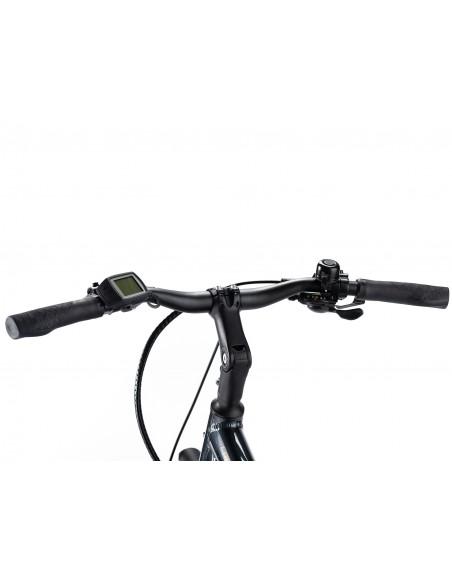 Lapierre bicicleta electrica con motor Bosch OVERVOLT TREKKING 6.4 en Mexico manubrio comodo