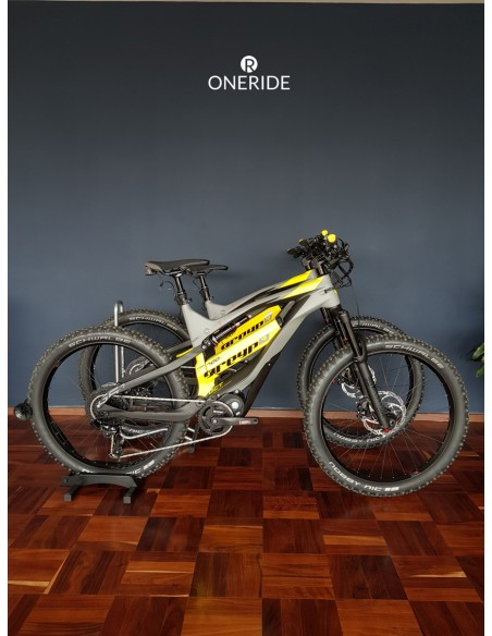 Bicicleta Electrica de montaña All-Mountain Greyp Carbon G6-1 talla grande Large
