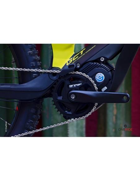 Bicicleta Electrica de montaña All-Mountain Greyp Carbon G6-1 talla grande Large motor austria MPF6 25 km/hora