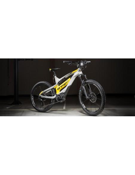 Cual es la mejor bicicleta electrica eMTB All mountain doble suspension en  Mexico Greyp Carbon G6