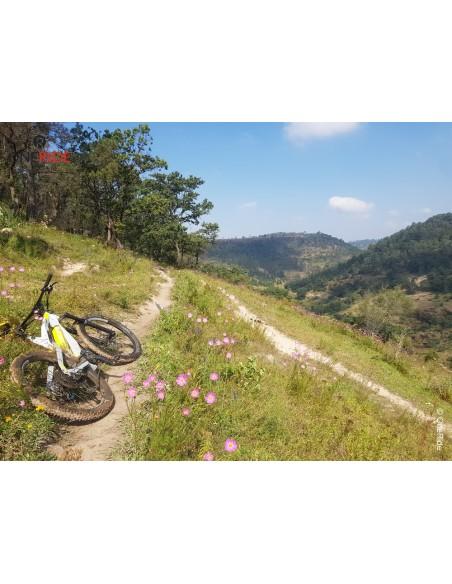 Salida en bicicleta electrica Morelia Altozano Michoacan Mexico 2021