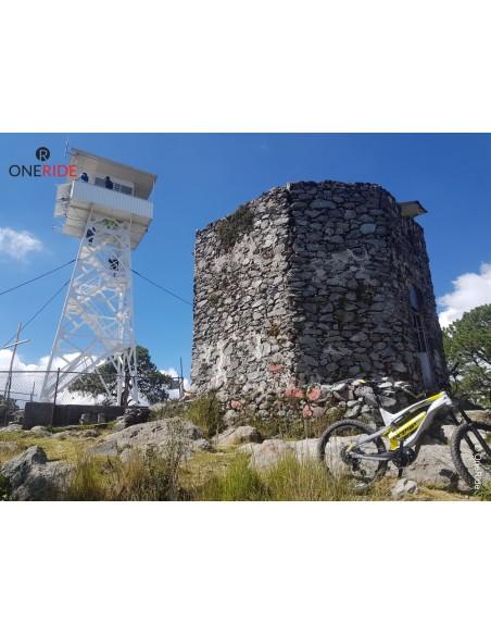Salida en bicicleta electrica Cima San Miguel Desierto de los Leones CDMX DF Mexico