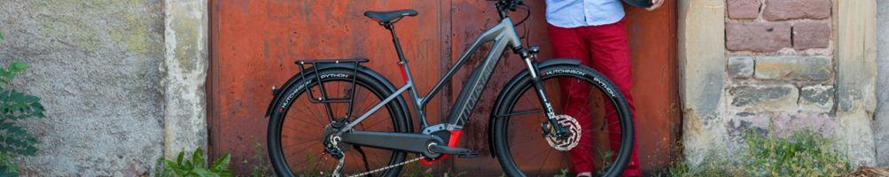 Bicicleta eléctrica todocamino polivalente (Trekking)