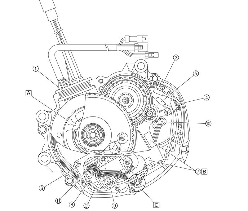 Yamaha-PW-motor